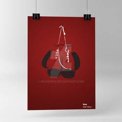 Poster Boxe Minimalism