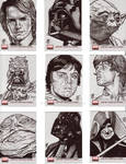 Star Wars Galaxy Cards 2