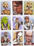 Clone Wars Sketch Cards 4