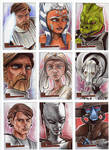 Clone Wars Sketch Cards 8