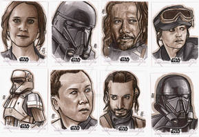 Rogue One Sketch Cards 5