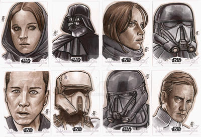 Rogue One Sketch Cards 6
