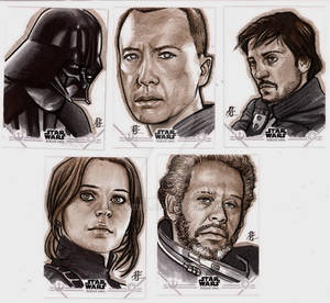 Rogue One Sketch Cards 7