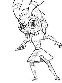Concept Sketch - LPB -Female Splicer-