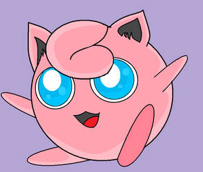 Jigglypuff by Hana-Flower