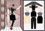 Outfit Maria Antonieta by Carla-lima