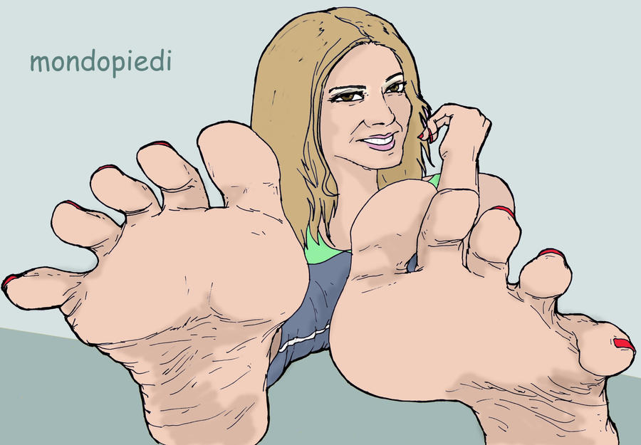 Spread your toes! by mondopiedi