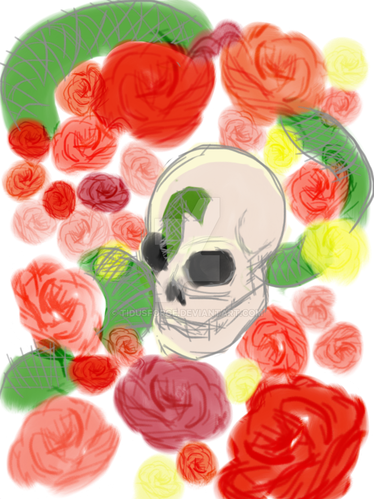 Skulls n Roses by Tidusforge