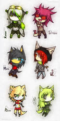 Chibi Part 3 by Pamf