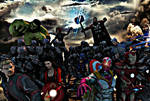 Marvel Avengers Age of Ultron poster