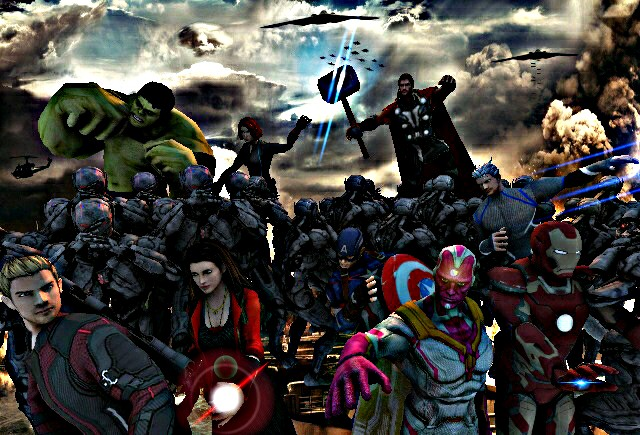 Avengers Age Of Ultron By Iloegbunam On Deviantart: Marvel Avengers Age Of Ultron Poster By SSingh511 On