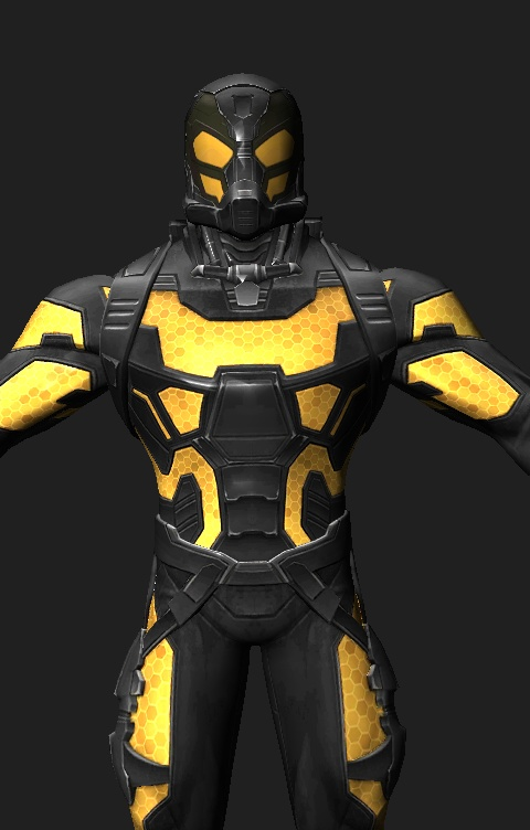 Yellowjacket movie marvel contest of champions by ssingh511 on