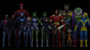 Marvel Future Fight Model Pack