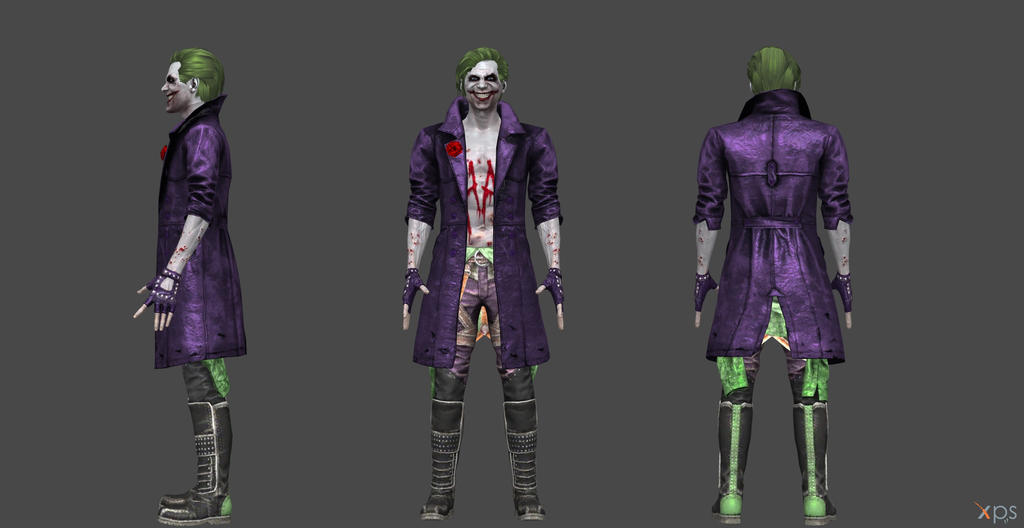 Joker Injustice 2 - XNA by SSingh511