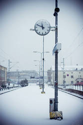 Snow in Turku