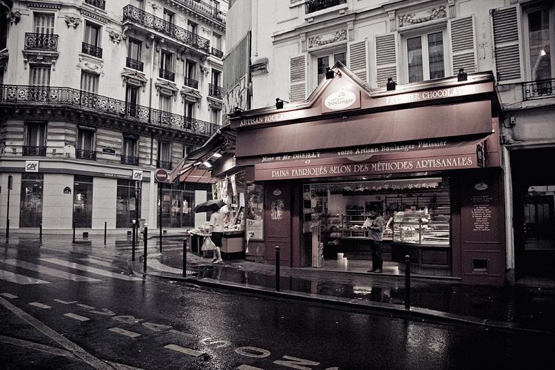 rain in Paris by Lucem