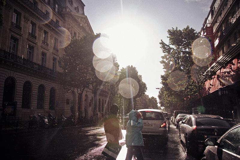 rain in Paris 2 by Lucem