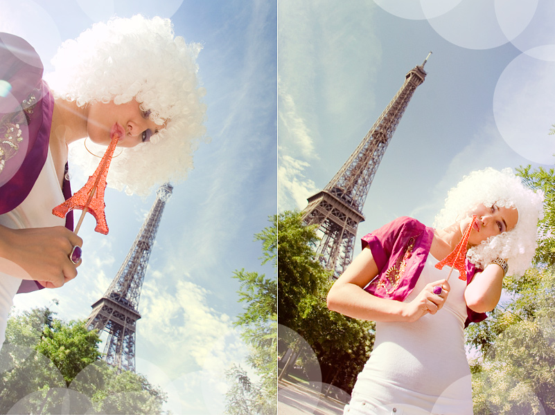 Paris in White 1 by Lucem