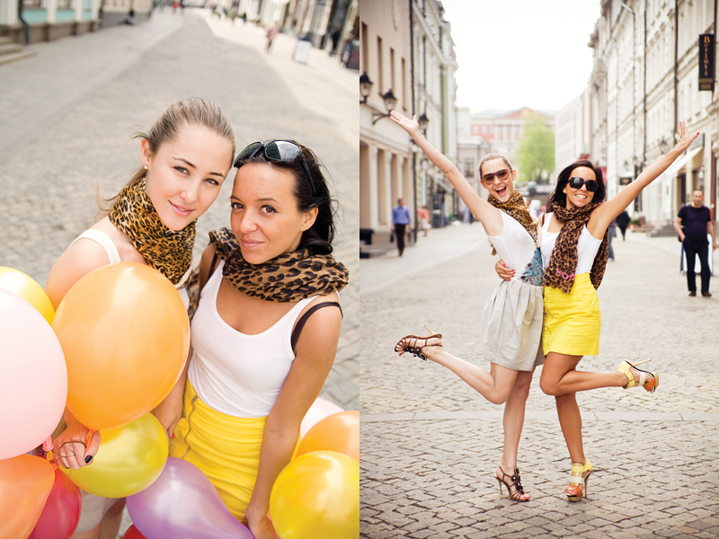 my lovely Moscow girls by Lucem