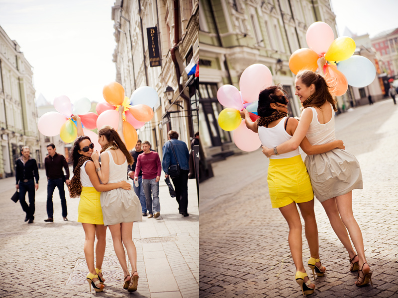 my lovely Moscow girls 3 by Lucem