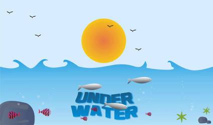 under water by graphicraja
