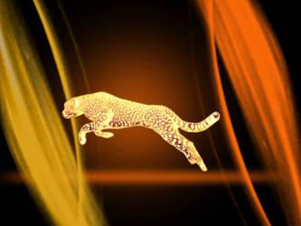 Burn Cheeta3 by graphicraja