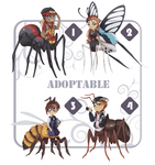 ADOPT AUCTION: INSECTS [OPEN] by x-Teeth-x