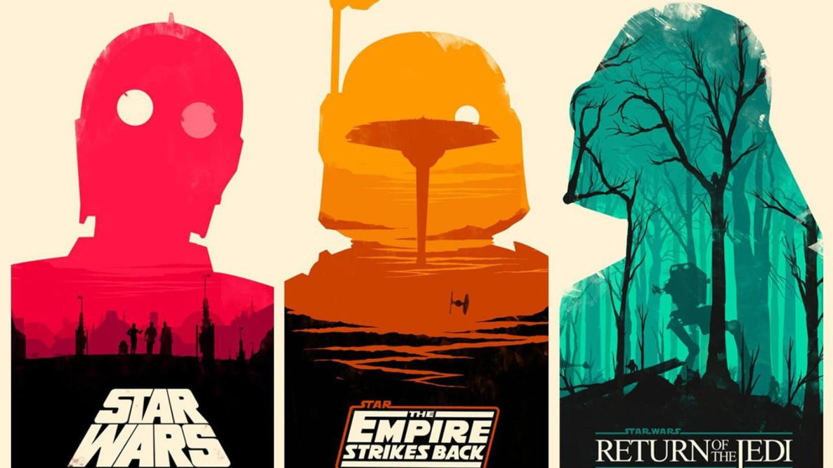 star wars the original trilogy artwork. by cappuccino64 on deviantart