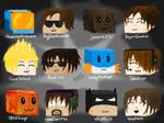 Minecraft Youtubers!