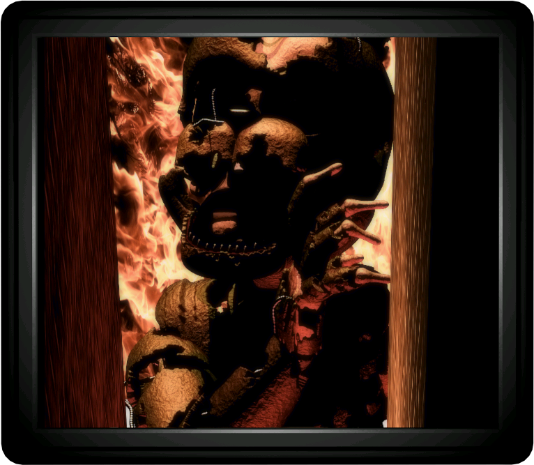 Theory: William doesn't burn in the ending of FNaF 6