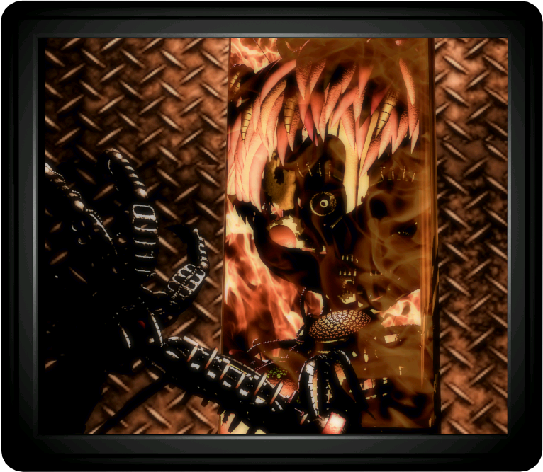 Theory: William doesn't burn in the ending of FNaF 6 (WARNING! Wall