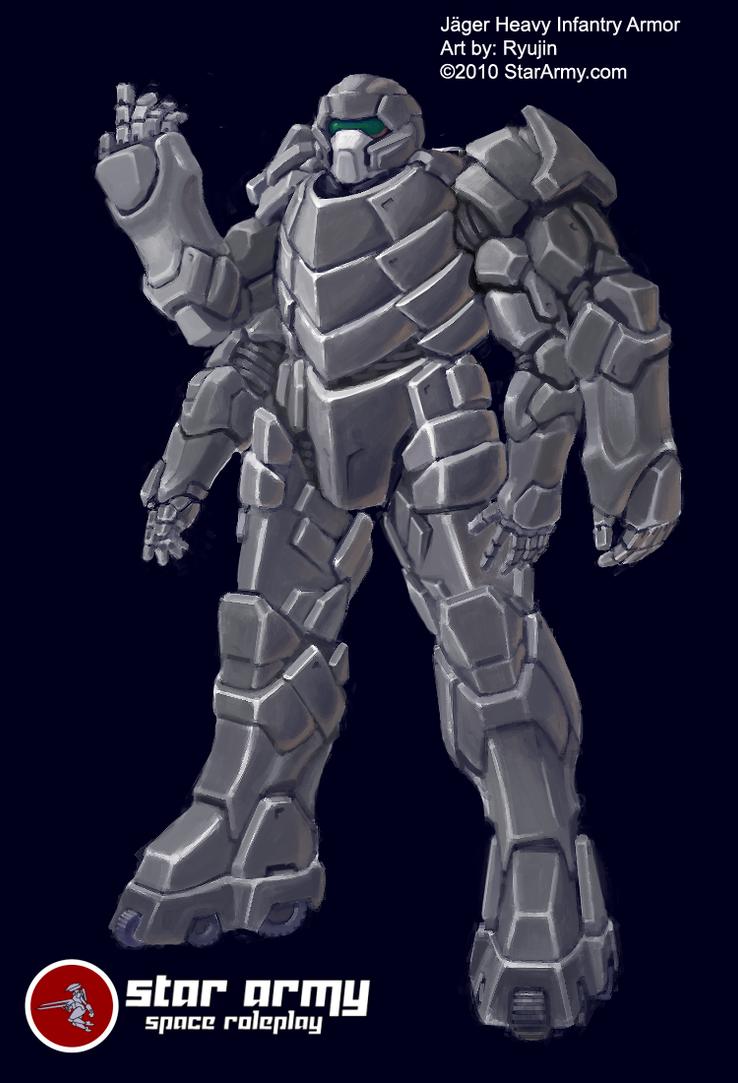 Jaeger Abwehran Heavy Armor by RyujinDX