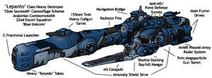 Lepanto-class Heavy Destroyer