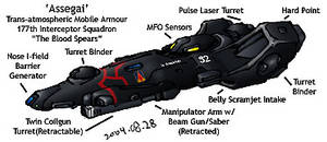 Armscor Assegai by RyujinDX
