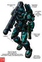 PSM-22 Bandit by RyujinDX