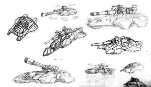 Flowtank Concept Sketches