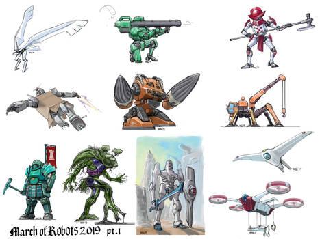 March of Robots 2019 part 1