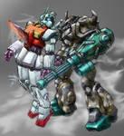 GMII meets B3 Gouf --color