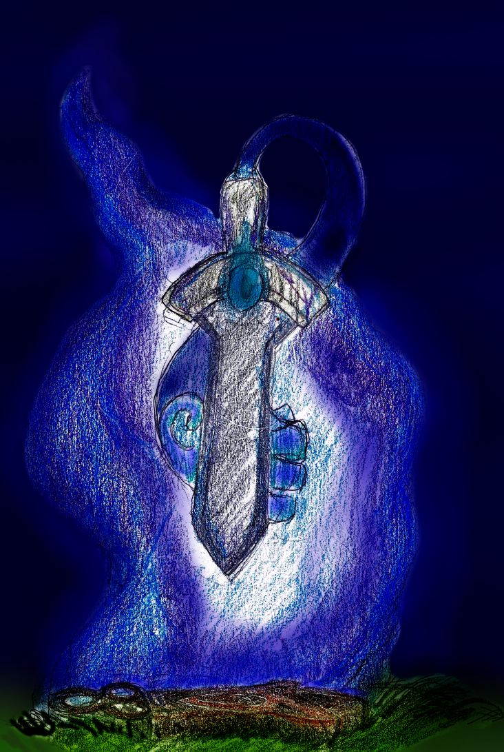 Honedge used...Will-O-Wisp? by Shadyserpent269