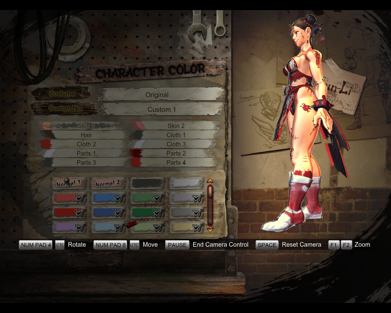 Playerunknown S Battlegrounds Wallpapers: Chunli Mortal Kombat Themed Mod WIP 2 By BrutalAce On