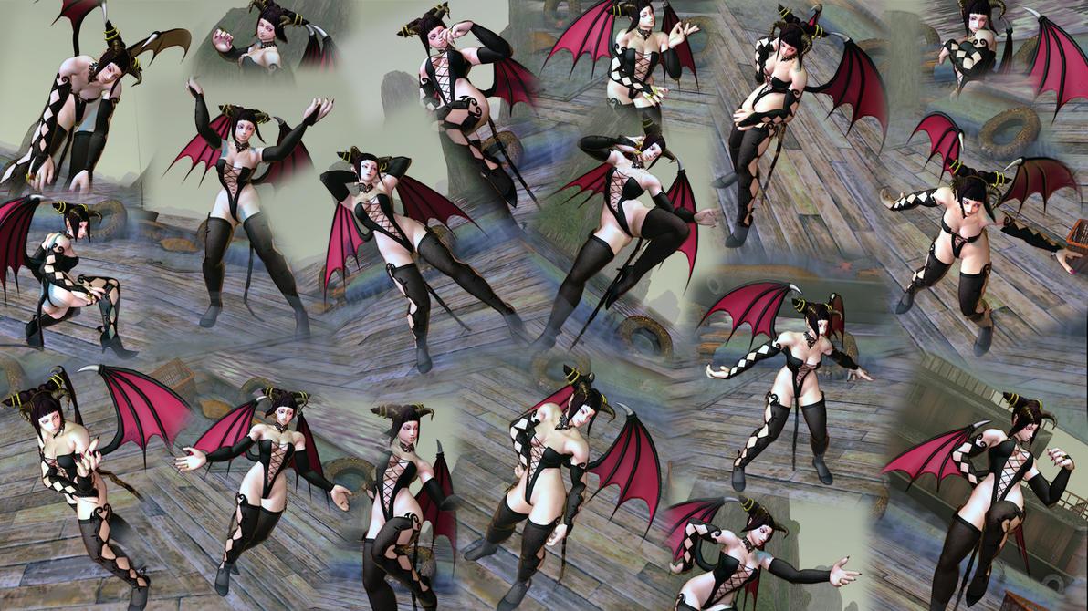 Juri Succubus Custom Screenshots by BrutalAce