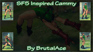 SF5 Inspired Cammy By BrutalAce