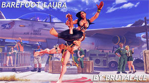 Barefoot Laura By BrutalAce