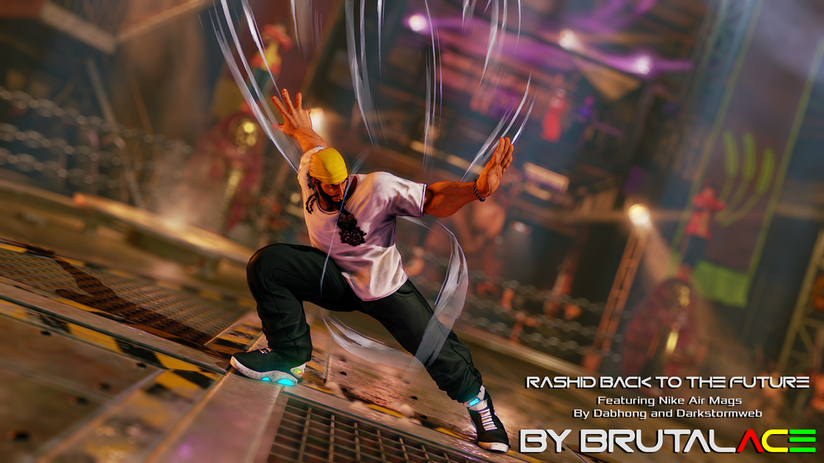 Rashid Back To The Future By BrutalAce On DeviantArt