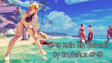 Kolin Silk Swimsuit Showcase 1