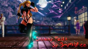 Cammy Reika Shimohira (Gantz) Suit WIP 03
