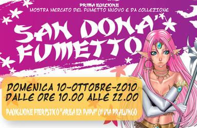 Banner San Dona Fumetto