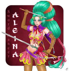 Sword Dancer Aleina by Elsa-Tuzzato