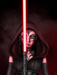 The Dark side of the force by Elsa-Tuzzato