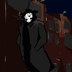 The Reaper walks at night
